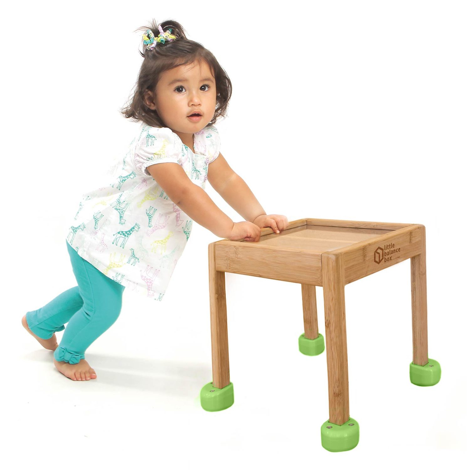 Little Balance Box™ Green Standing